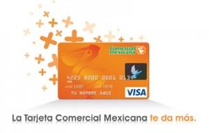 tarjeta visa comercial mexicana