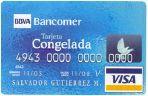 tarjeta de credito congelada bancomer