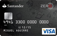 Tarjeta Zero Santander