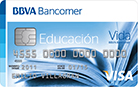 tarjeta bancomer educacion