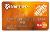 Tarjeta Banamex Home Depot
