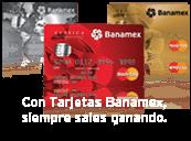 Tarjetas Banamex Recompensas en Viajes