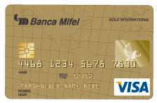 Tarjeta Mifel Visa Oro