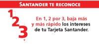 promocion tarjeta santander