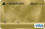 tarjeta credomatic destiny oro