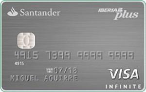 Tarjeta Santander Iberia Infinite