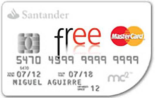 Tarjeta santander free - No mas 902 santander ...