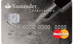 tarjeta santander corporativa