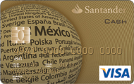 Tarjeta Santander Oro Cash