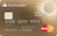 santander fiesta rewards oro