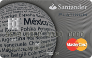 Tarjeta Santander Platino