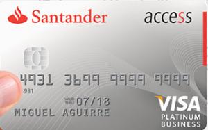 Tarjeta Santander Access Platinum