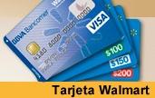 tarjeta bancomer walmart visa