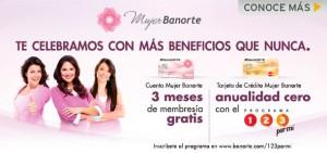 promocion tarjeta de credito mujer banorte
