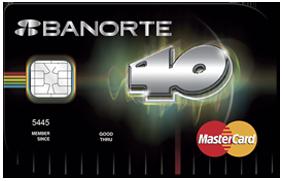 tarjeta banorte 40 principales