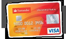 Tarjeta Santander Universitaria Inteligente