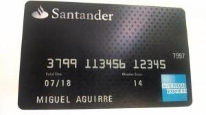 tarjeta de credito santander american express