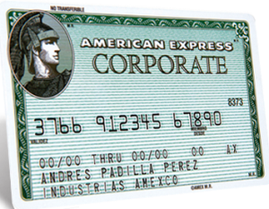 tarjeta american express corporate card