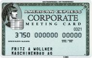 tarjeta corporate meeting