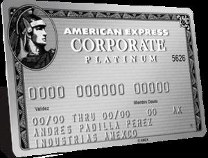 tarjeta american express corporate platinum