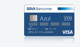 Tarjeta bancomer azul Habilitar visa debito para el exterior