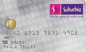 tarjeta suburbia bancomer