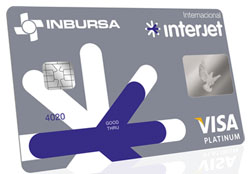 tarjeta platinum interjet inbursa