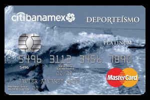 Tarjeta Banamex Deporteísmo Platinum